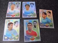 Topps Match attax 2010 5 x 100 club and 6 x man of the match cards £10 for the lot.