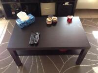 Black IKEA coffee tables in mint condition, really cheap