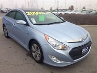 2013 Hyundai Sonata Hybrid LIMITED - 1 OWNER, PANORAMIC SUNROOF