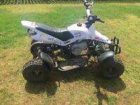 49cc mini moto quad (white) for sale