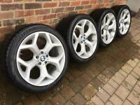 BMW X5 20 inch alloys with as new Pirelli tyres