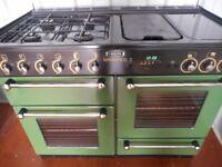 Rangemaster 110 all gas range cooker..in racing green