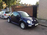 Volkswagen Beetle 1.6 Manual Reg 2002 Mot &Tax