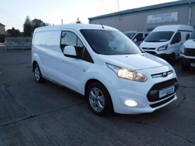 **CROSSGAR COMMERCIALS** FORD CONNECT 240 LWB LIMITED 115 BHP OCT 2014 WITH 32902 MILES