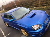 2006 SUBARU WRX TURBO UK ONLY 71000 FSH STUNNING FAST CAR