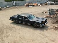$4000. Or best offer 1979 Lincoln continental