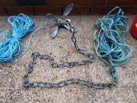 Folding sea anchor