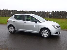2013 SEAT IBIZA 1.2 S 5 DOOR ONLY 38000 MILES SUPERB VALUE FOR MONEY