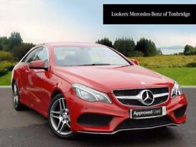 Mercedes-Benz E Class E220 BLUETEC AMG LINE (red) 2015-09-30