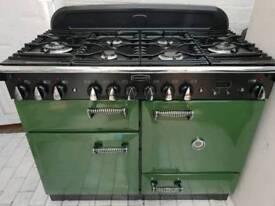 Rangemaster Elan Dual Fuel Cooker 110CM in British Racing Green