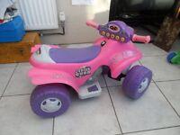 Toddler electric Quad Bike