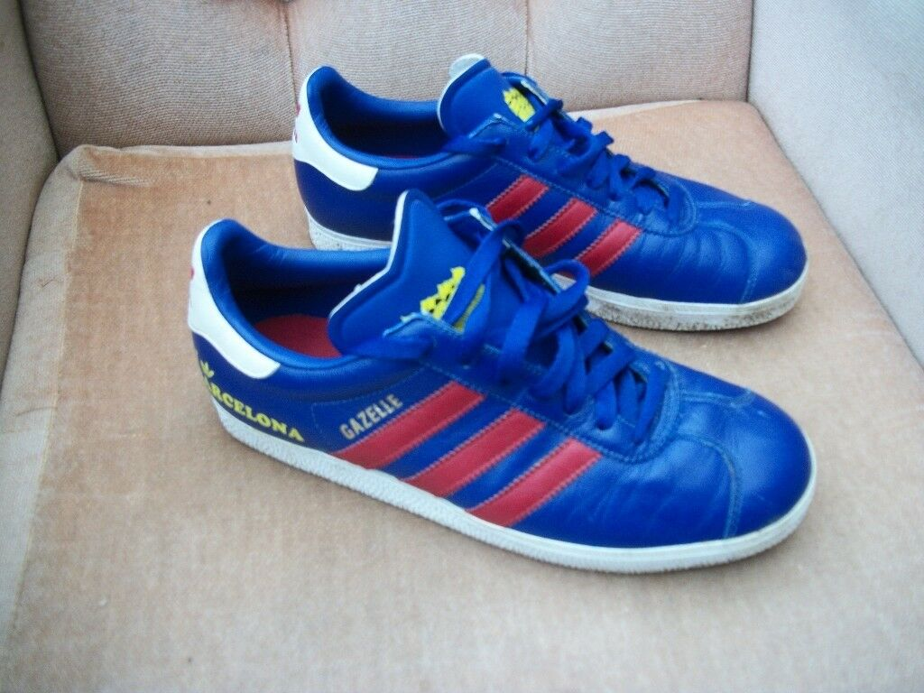 ADIDAS GAZELLE 19309 | BARCELONA BLUE BLUE TRAINERS UK TALLA 7 | 9a1d1db - allpoints.host