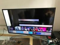 Samsung 40inch smart 4K LED tv for repair or parts