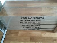 Brand New Untouched Solid Oak Wood Flooring For Sale