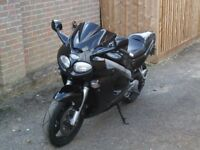 For Sale/Swap Triumph Sprint ST 955i Black 23,800 miles. Re Mapped with Delkevic pipe plus originals