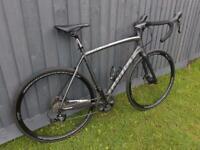 GHOST NIVOLET road bike carbon disc 55cm large