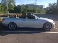 BMW 320i m sport convertible with full service history