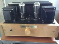 Transcription Audio Progression One valve integrated amplifier