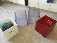 Ikea storage boxes 10 in total