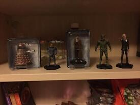 Doctor Who figurines #6-10