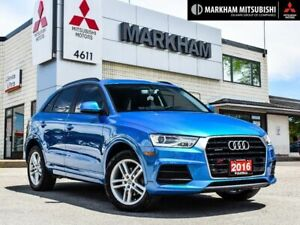 2016 Audi Q3 2.0T Komfort- PANO ROOF ONE OWNER 