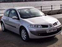 2007 RENAULT MEGANE 1.6 DYNAMIQUE * 3 DOOR * FULL YEARS M.O.T * STUNNING SHOWROOM CONDITION *