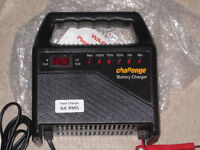 NEW Challenge Car battery charger. Made in UK