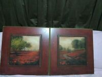 Landscape Wall Art, signed by the Artist.