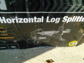 Log splitter new 4ton
