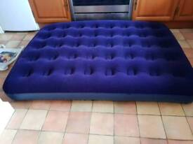 Lichfield double air bed with battery pump