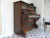Good quality, heavy Bluthner piano (1908) needs a new caring home - free if collected