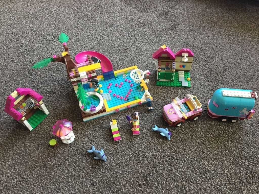 Lego Friends Heartlake City Pool Nearly New With Box And Full