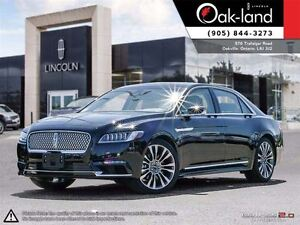 2017 Lincoln Continental Former Lincoln Executive Car!!!