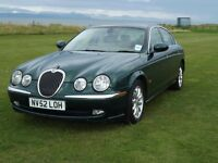 2002 Jaguar S TYPE 2.6 V6 AUTOMATIC MOT'D JULY