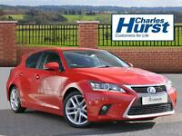 Lexus CT 200H ADVANCE (red) 2015-01-06