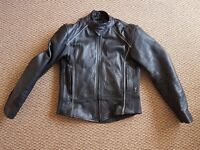 Full set of JTS motorbike leathers