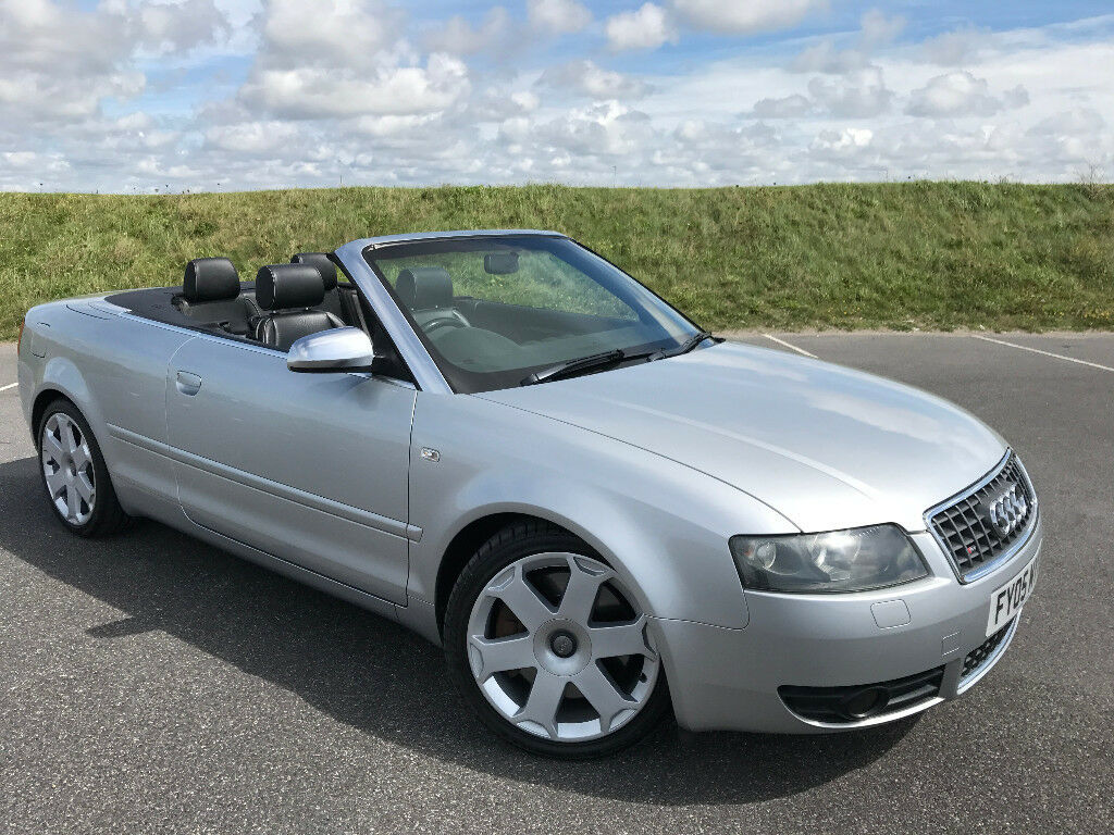 STUNNING LOW MILEAGE AUDI S4 CONVERTIBLE WITH FULL AUDI SERVICE HISTORY AND LONG MOT! GREAT CAR!