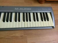 M-audio prokeys sono 88 keyboard with weighted keys