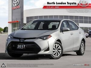 2017 Toyota Corolla LE Former Daily Rental. Safety features a...