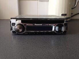Panasonic car stereo