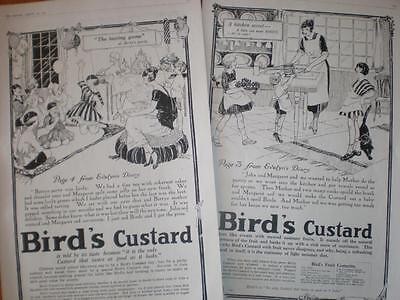 2 Bird's Custard UK adverts 1921