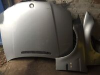 BMW BONNET + wings + sills ready to go average condition
