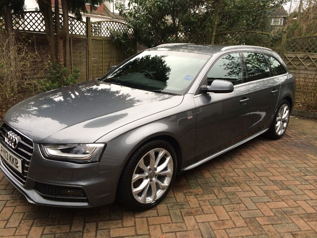 audi a4 avant s line 2 0tdi multitronic 2013 in monsoon grey in hockley essex gumtree. Black Bedroom Furniture Sets. Home Design Ideas