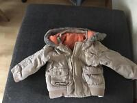 Boys coat age 9-12 months.