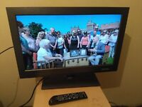 """Excellent 26"""" BUSH LCD TV hd ready, freeview"""