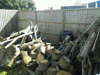 Seasoned wood