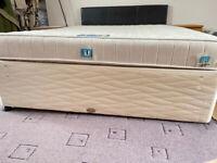 Kingsize Bed & Mattress w/ Headboard