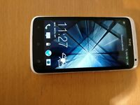 HTC OneX, pristine condition, no scratches, white, unlocked, kept in case all the time.