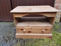 Pine TV/DVD cabinet - used