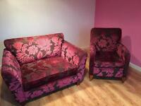 Matching Loveseat & Armchair - REDUCED!